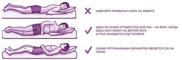 Нужно спать «правильно»