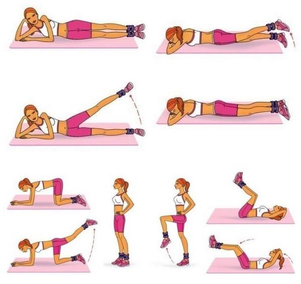Физические упражнения не всегда помогают придать ягодицам упругость и объем