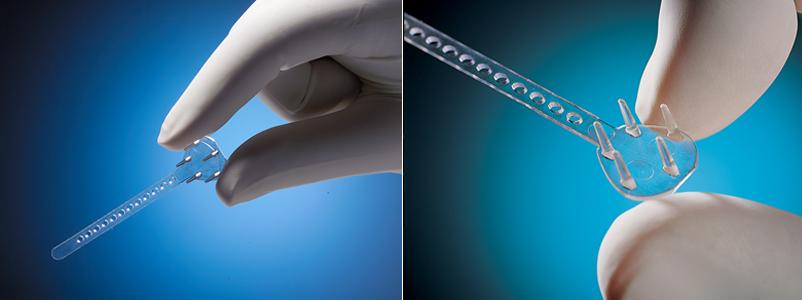 Эндотины состоят из биополимерных материалов, совместимых с тканями человека