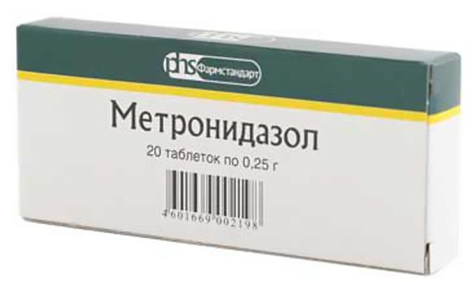 В профилактических целях может назначаться метронидазол