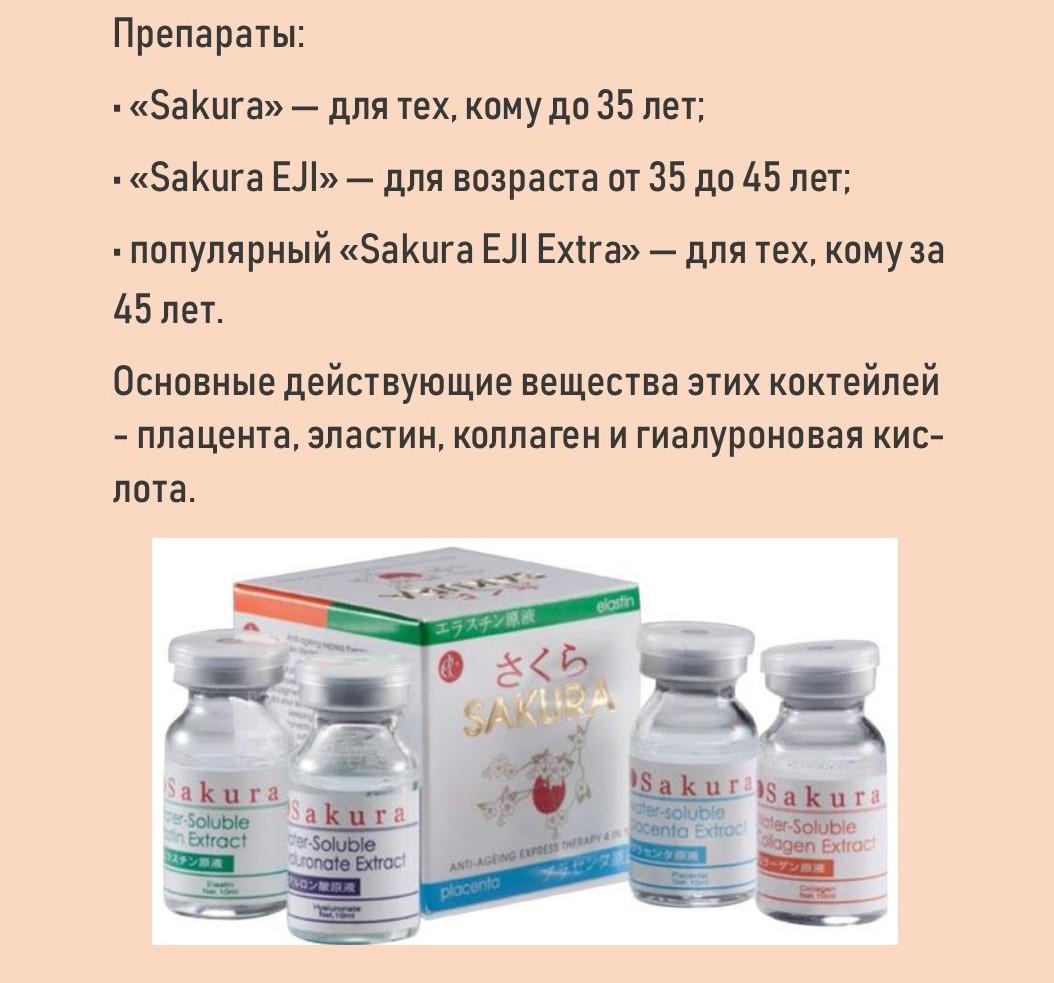 О препаратах «Сакура»