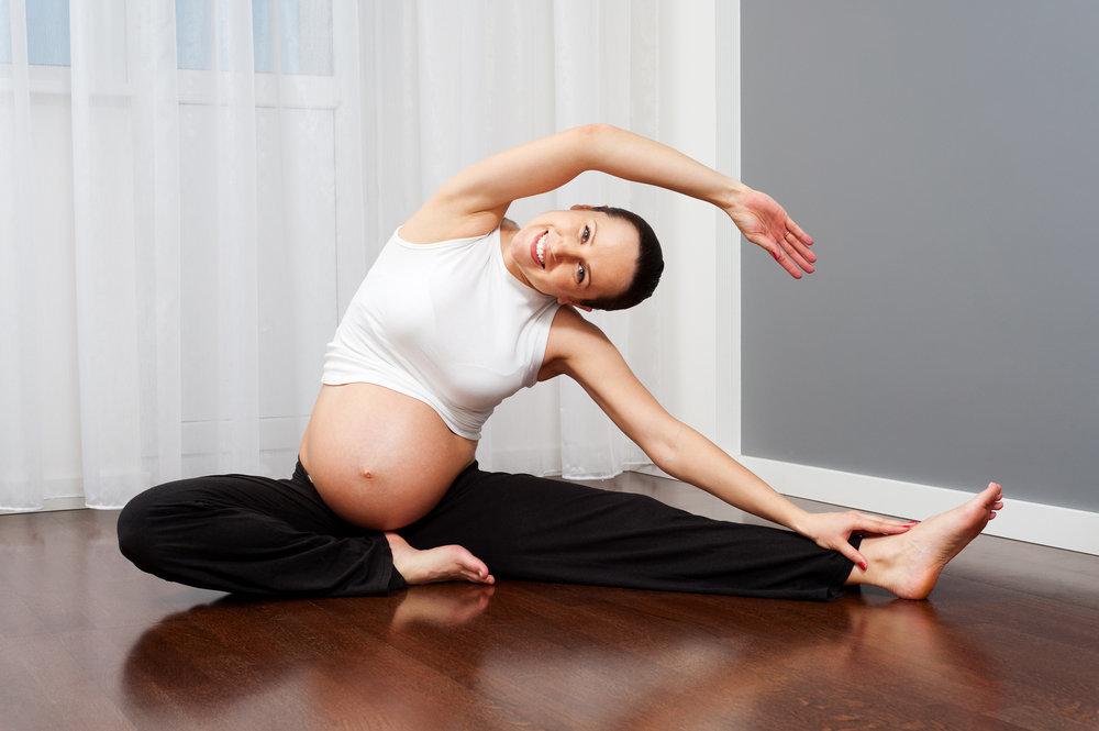Йога поможет держать тело в тонусе