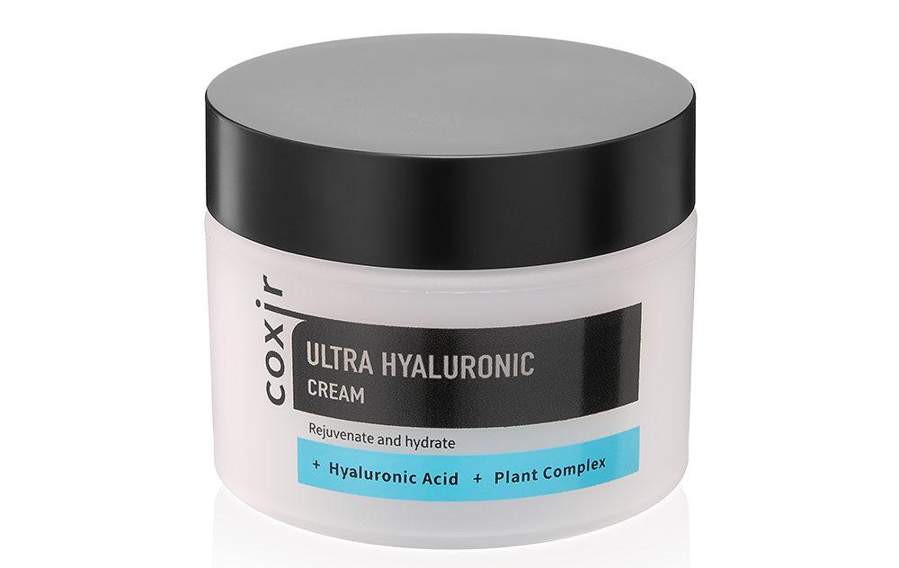 "Coxir ""Ultra Hyaluronic Cream"" оказывает увлажняющее действие"
