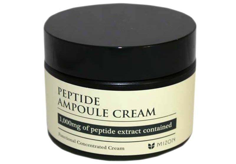 "Mizon ""Peptide ampoule cream"" применяют для омоложения и восстановления кожи"