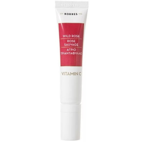 "Korres ""Wild Rose Brightening First Wrinkles & Dark Circles Eye Cream"" устраняет отёки и морщины"