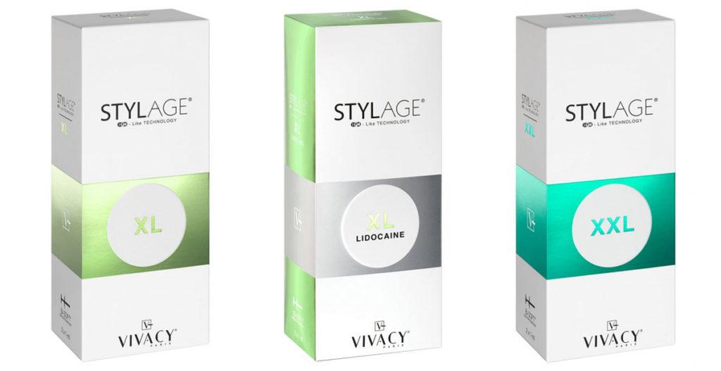 Stylage XL, Stylage XL Lidocaine, Stylage XXL