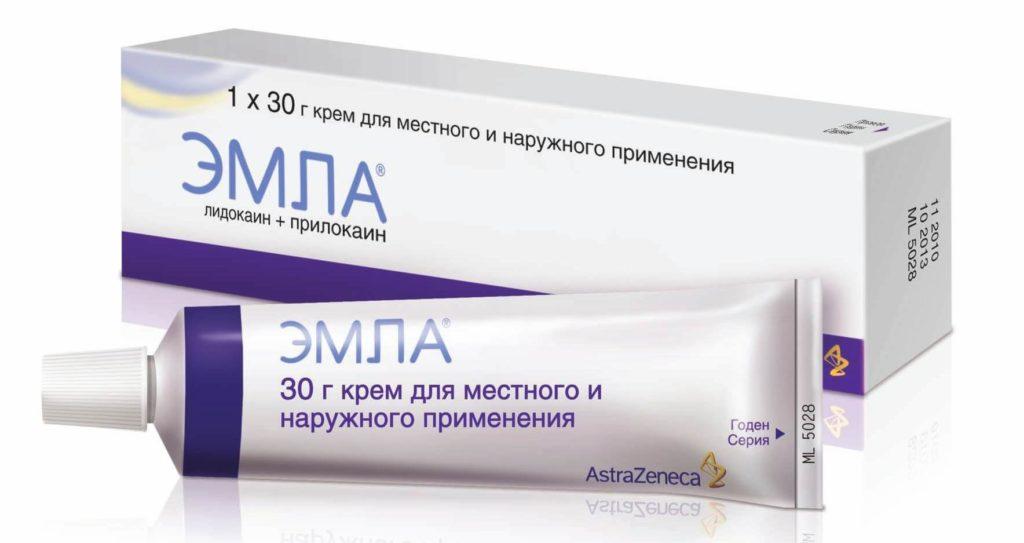 У косметологов имеются препараты для местной анестезии