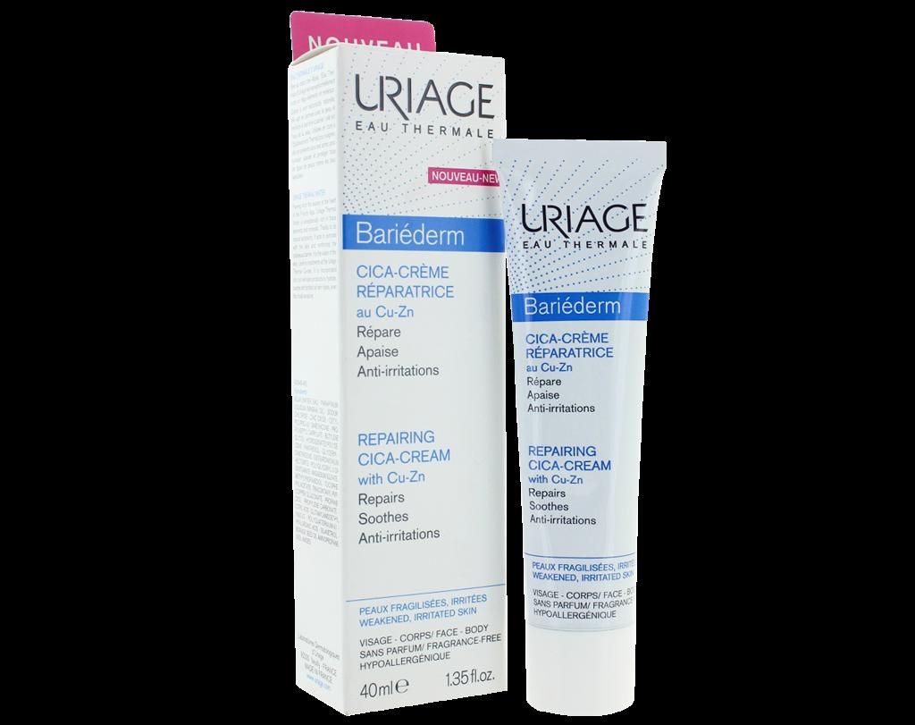 Uriage Bariederm Repairing Cica-Cream Крем восстанавливающий для лица и тела